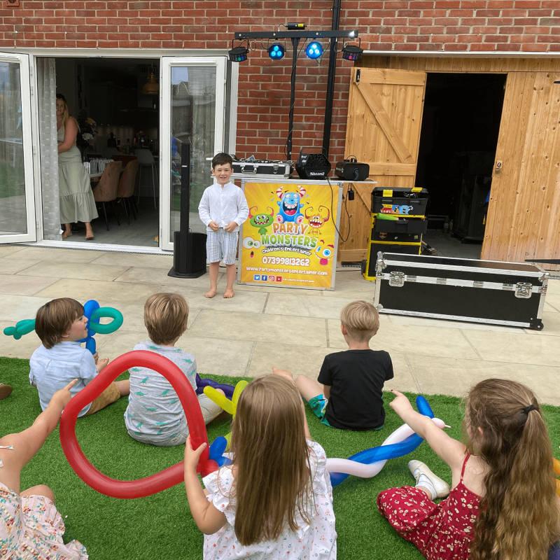 Childrens Entertainment Setup