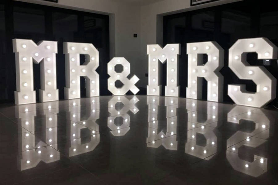 Light Up Letters and Numbers