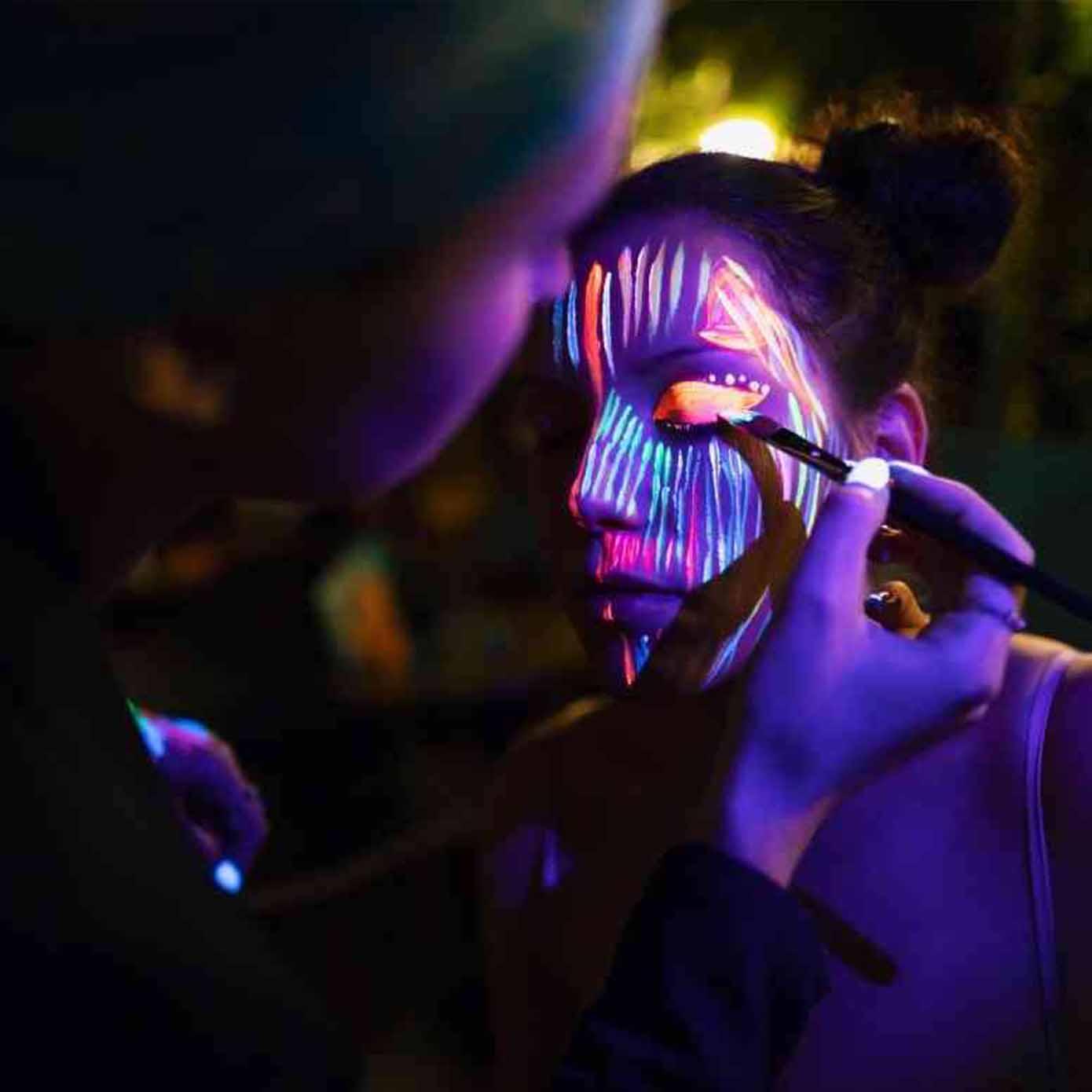 UV glow party essex
