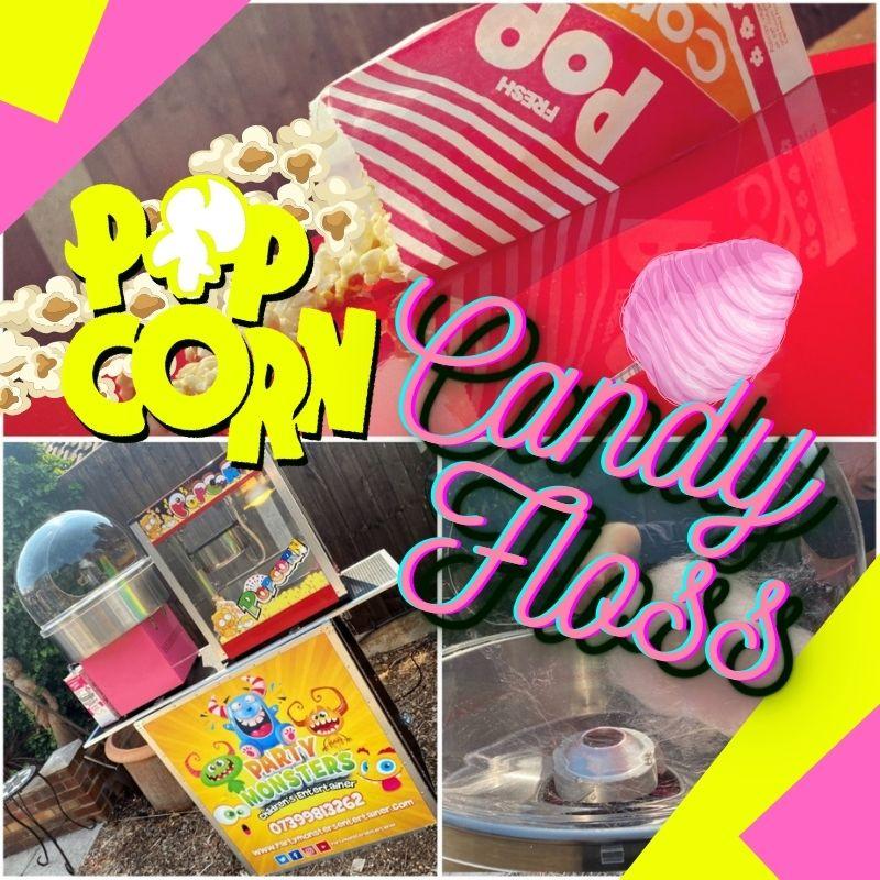 Popcorn & Candy Floss Hire Essex